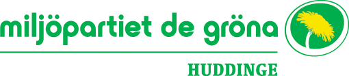 Miljöpartiet i Huddinge logga