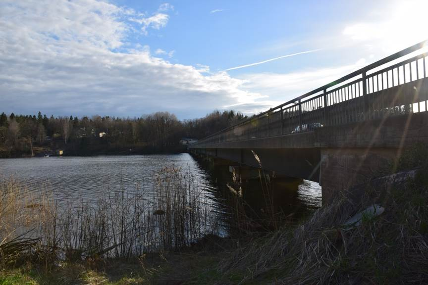 Bron över Orlången 1