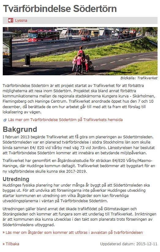 151211 Bild från Huddinge kommuns webb