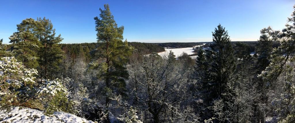 Vinter vid Orlången